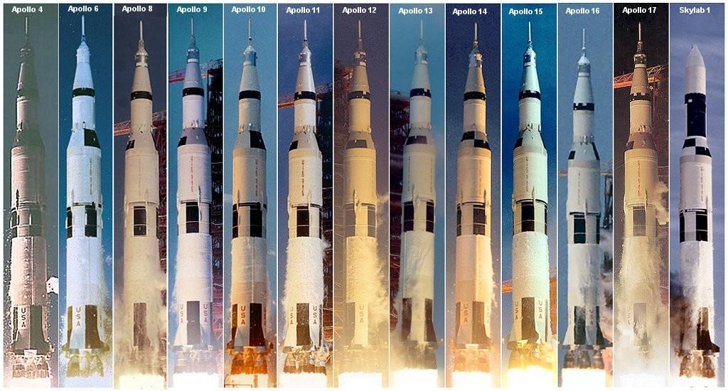 סוס העבודה של תכנית אפולו: כל טילי סטורן 5 ששוגרו לחלל | צילומים: NASA