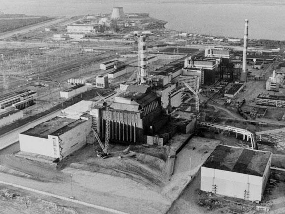 הכור בצ'רנוביל | צילום: Science Photo Library