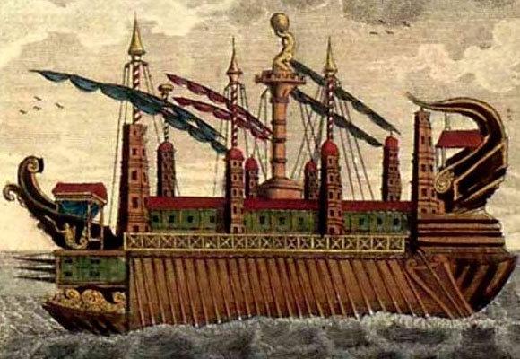 הסירקוזיה, ציור של אמן לא ידוע, 1798 | מקור: ויקיפדיה, נחלת הכלל