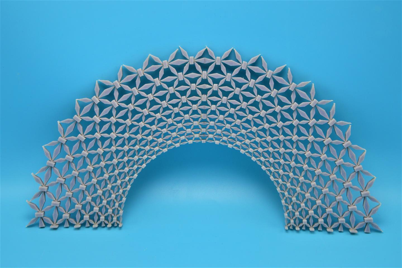 מבנה הסריג שהחוקרים פיתחו, University of Missouri