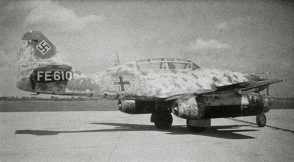 מאות הפלות של מטוסי אויב תוך פחות משנה. מסרשמיט 262 של חיל האוויר הנאצי | מקור: Science Photo Library