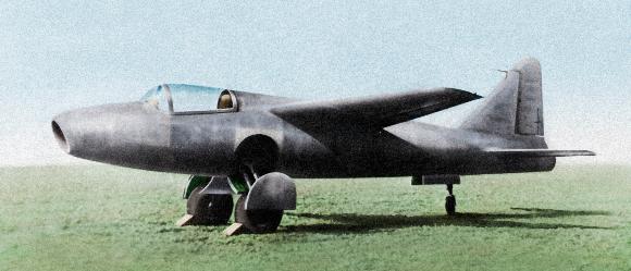 כבר בטיסה הראשונה היה ברור שזה מטוס העתיד. היינקל He 178 מטוס הסילון הראשון | מקור: Science Photo Library