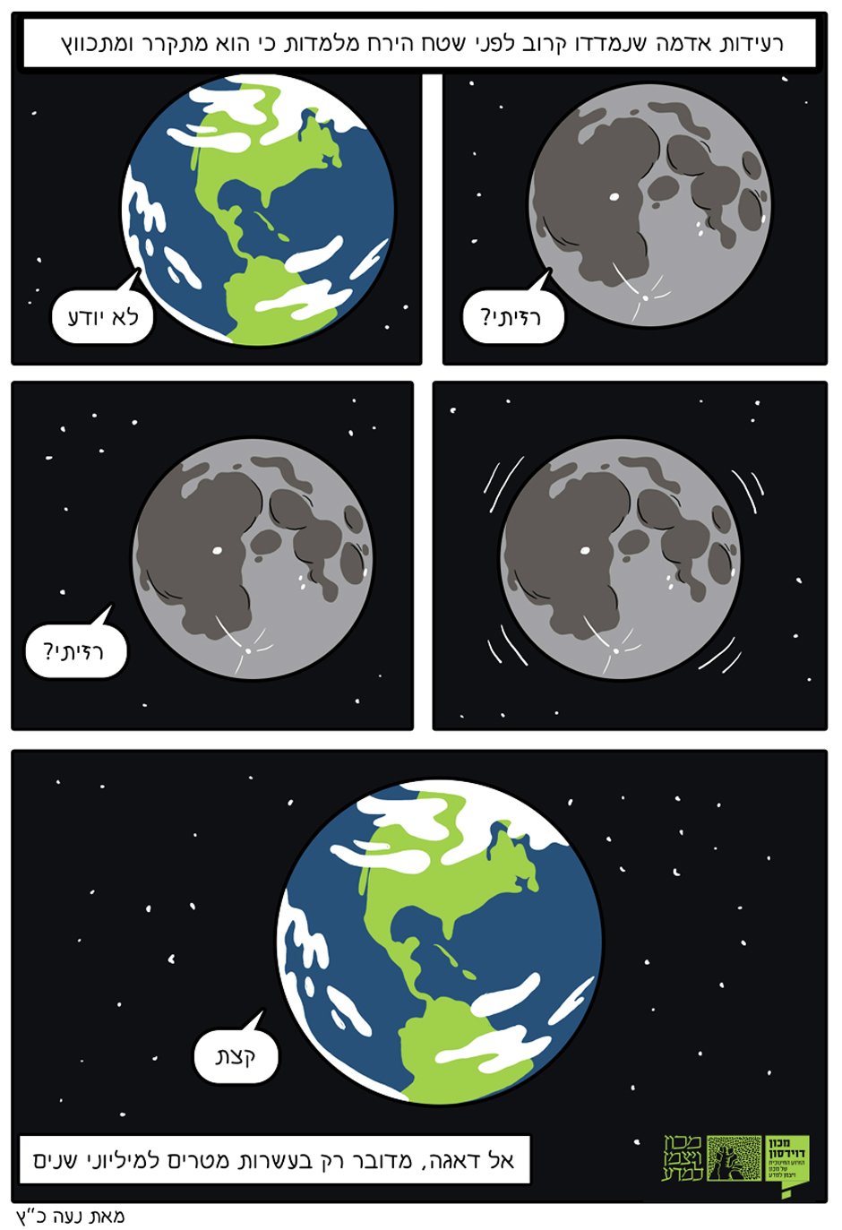 """סיפור פשוט: תמצית הכתבה בקומיקס של המאיירת נעה כ""""ץ (לחצו להגדלה):"""