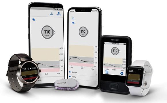 מערכת Dexcom שאושרה לשימוש לניטור והזרקה אוטומטית של אינסולין | צילום: אתר היצרן