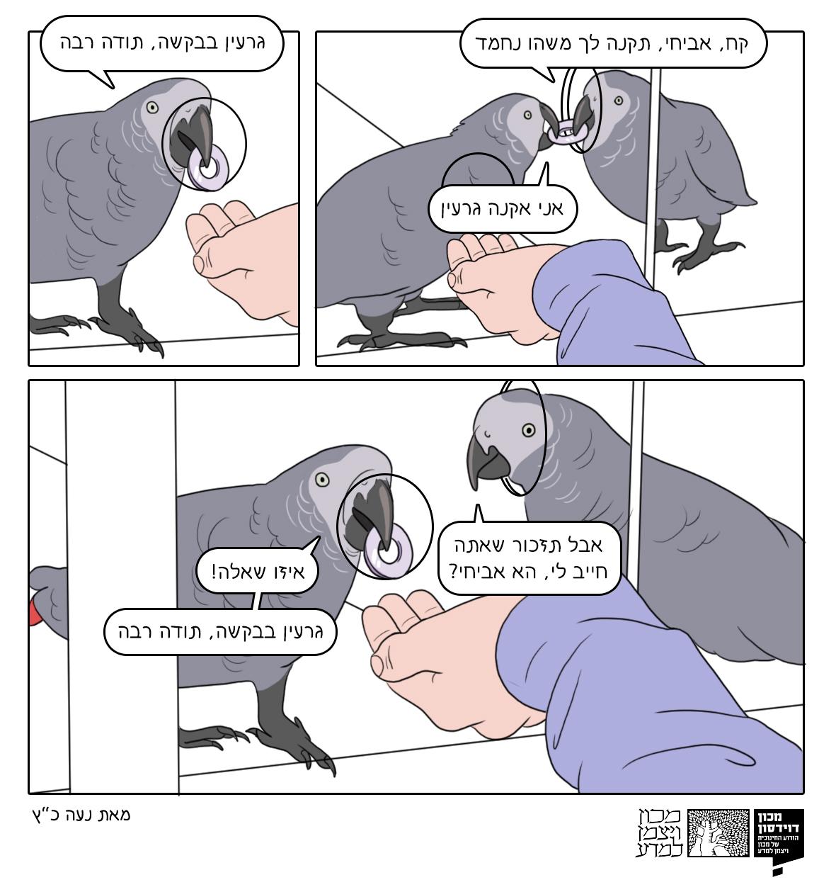 קומיקס של נעה כץ