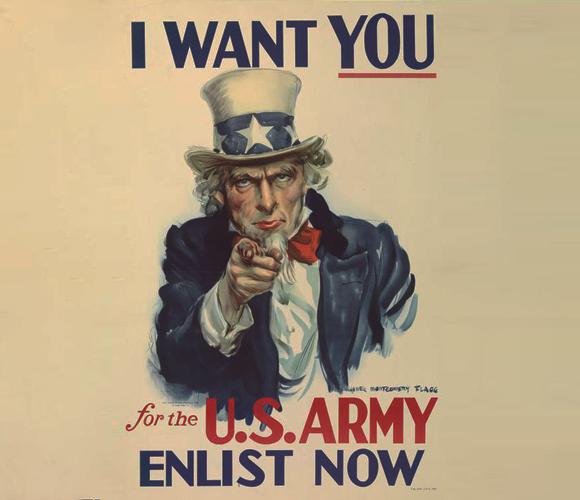 כרזת גיוס לצבא ארצות הברית | ויקיפדיה