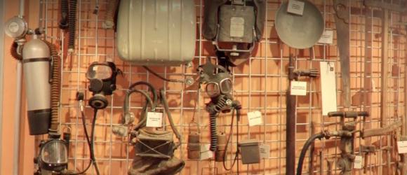 תצוגה של ציוד כורים | צילום: אתר המוזיאון