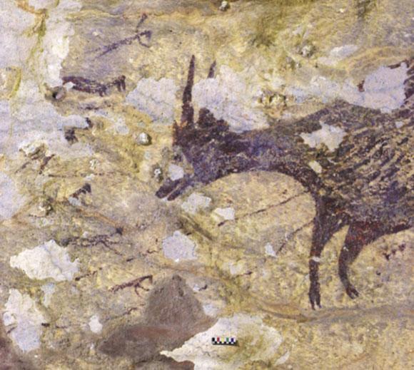 ציור מהמערה