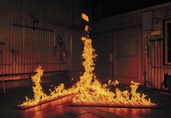 טורנדו אש במעבדה