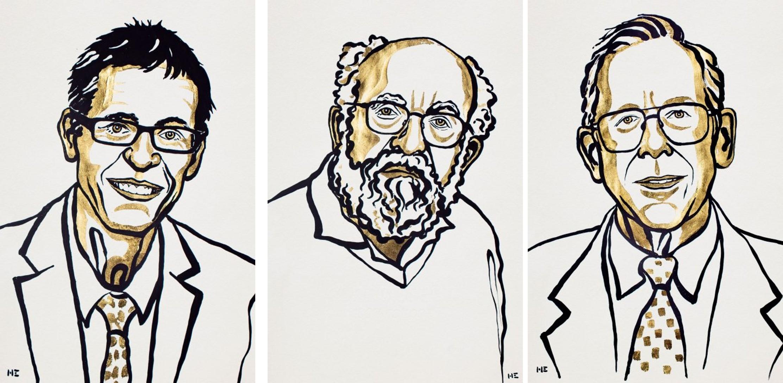 שלושת חתני פרס נובל בפיזיקה 2019 | אתר פרס נובל