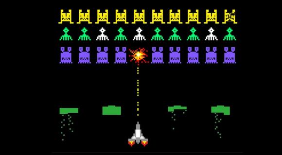 הוספת פיקסל יחיד עלולה למנוע מהבינה המלאכותית לנצח במשחק. מסך של Space Invaders | מקור: Varlamova Lydmila, Shutterstock