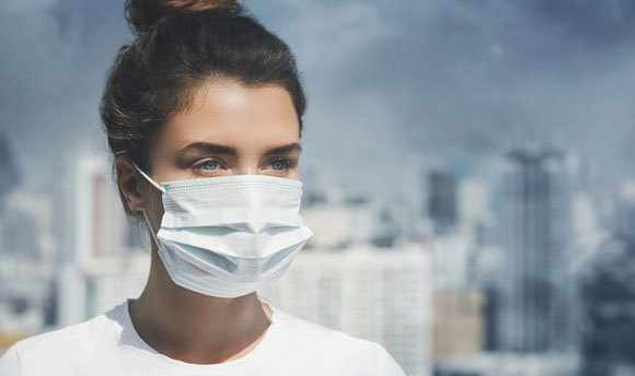 A surgical mask. Photo: Shutterstock