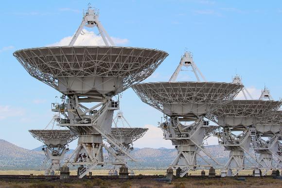 חלק ממערך הטלסקופים הגדול בניו מקסיקו   צילום:  Sean Lema, Shutterstock
