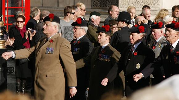 מצעד יום הזיכרון בלונדון, בריטניה, 2011 | Shutterstock, Bikeworldtravel