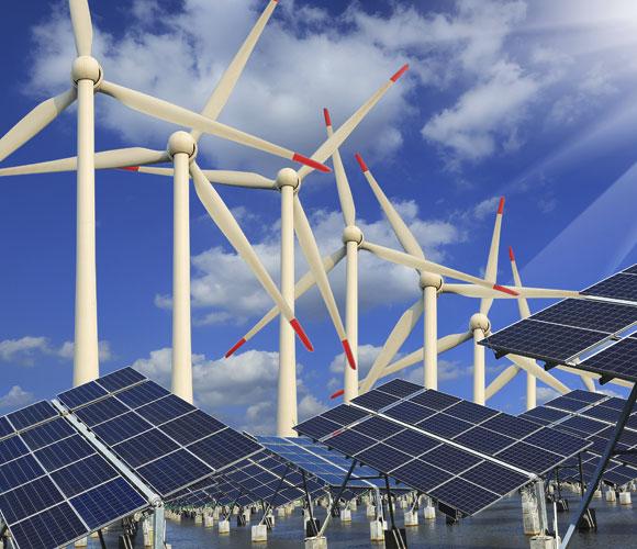 שיטות חשובות, אך יעילותן נמוכה יחסית: קולטי שמש לייצור חשמל וטורבינות רוח | איור: Shutterstock