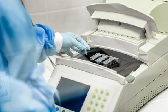 מכשיר לבדיקת PCR | צילום: Oleksii Fedorenko, Shutterstock