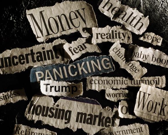 עד כה התגובות לחדשות שליליות נבדקו רק במחקרים קטנים מאוד. כותרות מפחידות בעיתונים | אילוסטרציה: Shutterstock