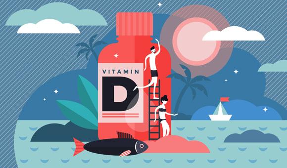 הם לא מראים שהמחסור בוויטמין משפיע על סיכוי ההדבקה או על חומרת המחלה. איור Shutterstock