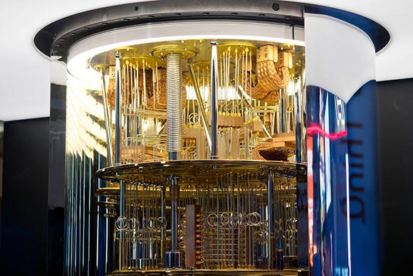 המחשב הקוונטי של חברת IBM | צילום: Boykov, Shutterstock