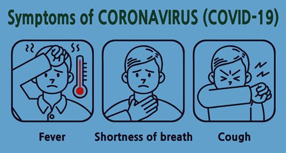 חום, קוצר נשימה ושיעול - שלושת התסמינים הבולטים של מחלת הקורונה COVID-19 | איור: Shutterstock, JAEHWAN GOH