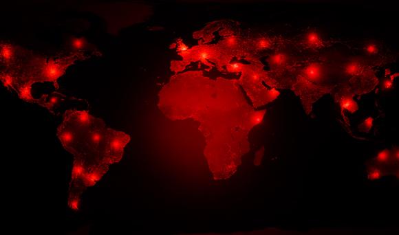 מפת מגפה עולמית | איור: ridersuperone, Shutterstock