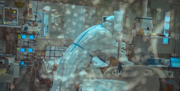 טיפול נמרץ במחלקת קורונה | צילום: shutter_o, Shutterstock