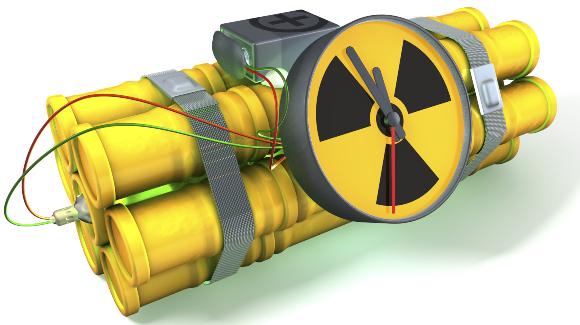 פצצה מלוכלכלת | איור: Shutterstock