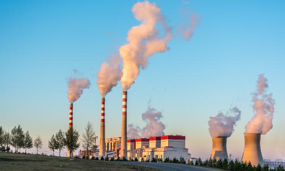 תחנת כוח פחמית במונגוליה הפנימית | צילום: Shutterstock