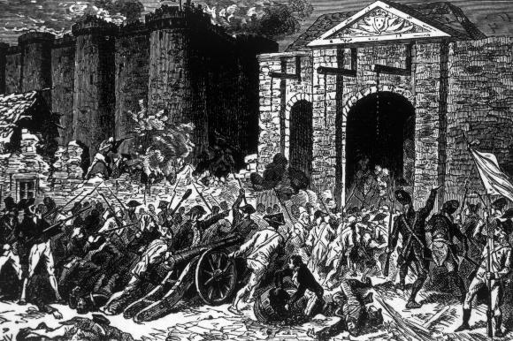 ההמונים מסתערים על מצודת הבסטיליה ביולי 1789 | איור: Everett Historical, Shutterstock