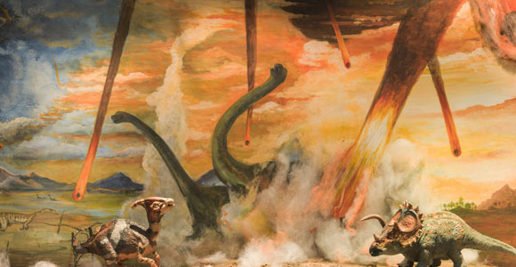 האסון שהשמיד כמעט את כל החיים על כדור הארץ. פגיעת האסטרואיד | איור: MK photograp55, Shutterstock