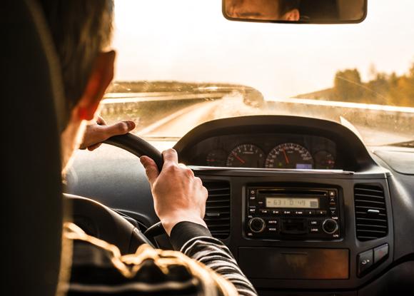 נהג במכונית פרטית | צילום: maradon 333, Shutterstock