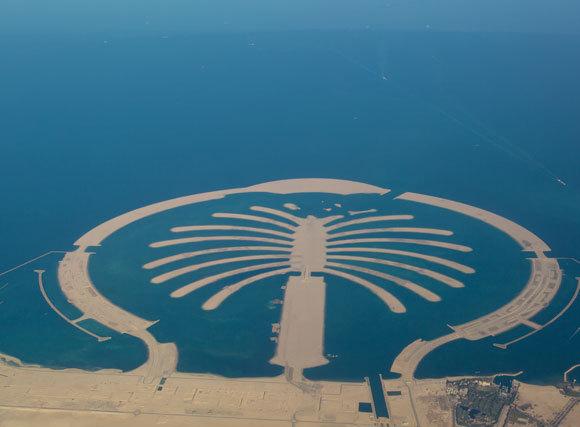 הקמת האיים עלתה במחיר סביבתי כבד, דקל ג'בל עלי, למשל, נבנה על שמורה ימית. צילום Shutterstock