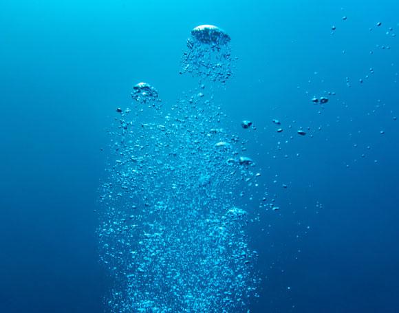 בועות במים | צילום אילוסטרציה: unterwegs, Shutterstock