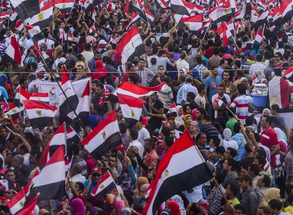הפגנה באלכסנדריה ב-2013 | צילום: MidoSemsem, Shutterstock