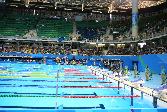 Das olympische Becken in Rio 2016 | Foto: Leonard Zhukovsky, Shutterstock