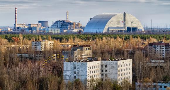 העיר הנטושה פריפיאט ליד הכור בצ'רנוביל, אוקראינה | צילום: Milosz Maslanka. Shutterstock