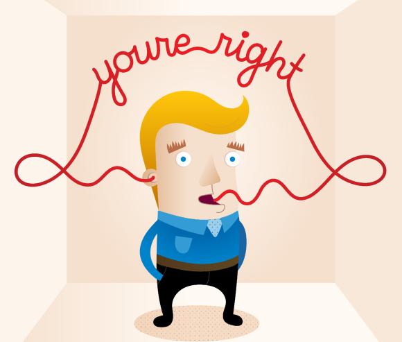 תיבת תהודה, איש מדבר אל עצמו | Shutterstock