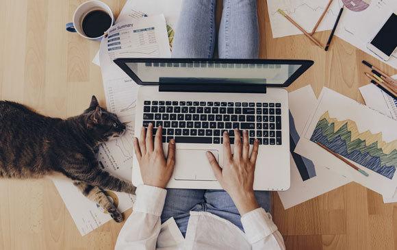 האם מדובר בשינוי קבוע בתרבות העבודה? עבודה מהבית | אילוסטרציה: Creative Lab, Shutterstock