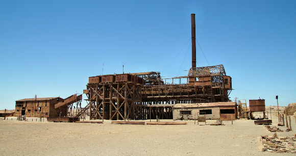 מפעל סלפטר נטוש בצפון צ'ילה | צילום: Przemyslaw Skibinski, Shutterstock
