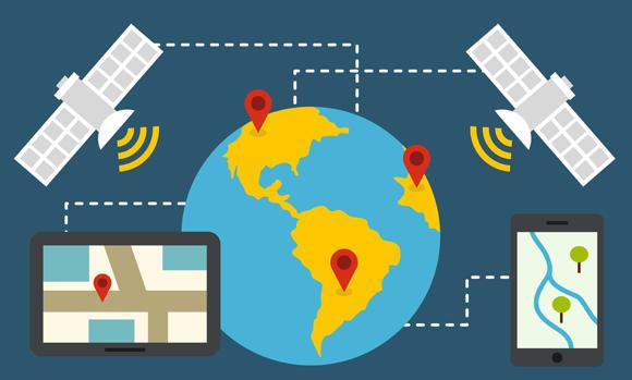 מערכת GPS | איור: Rvector, Shutterstock