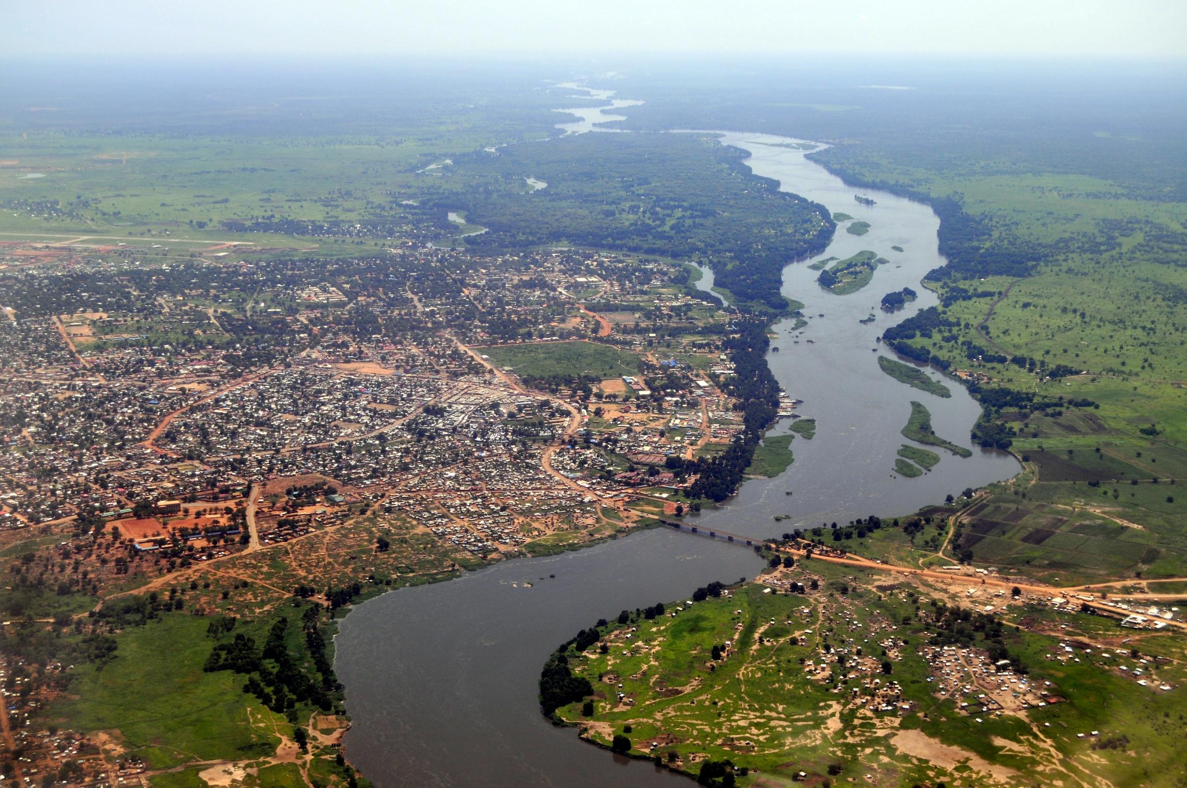 צילום מהאוויר של הנילוס | shutterstock