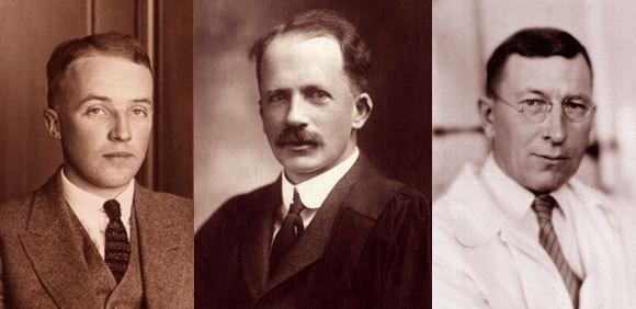 מימין לשמאל: פרדריק בנטניג, ג׳ון מקלאוד, וצ׳ארלס בסט | צילומים: אוני׳ טורונטו, ספריית וארכיבי קנדה